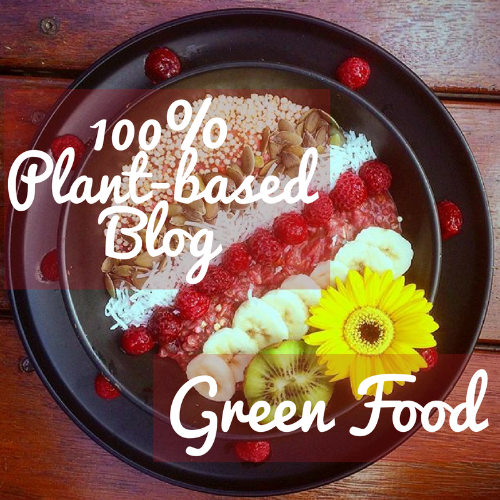 100%plant based blog Green Food Amber Sewell Green