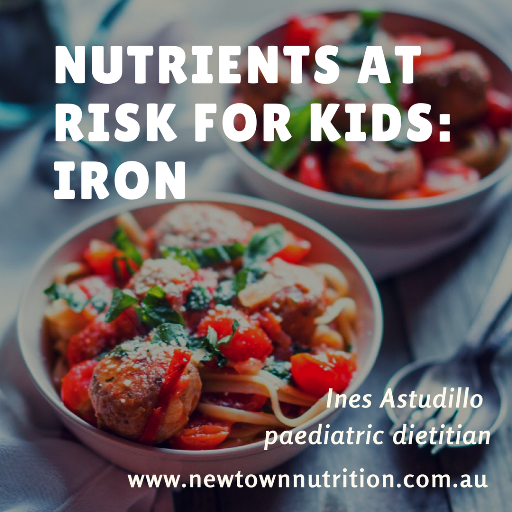 Iron deficiency in kids | nutrients at risk