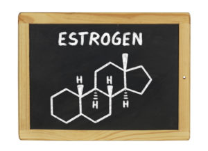 Oestrogen molecule. Soy foods can help protect against certain cancers
