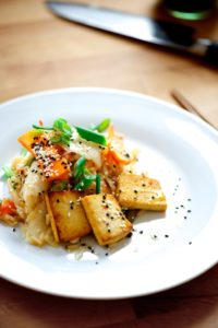 Tofu. A summary of the research on Soy and Cancer risk