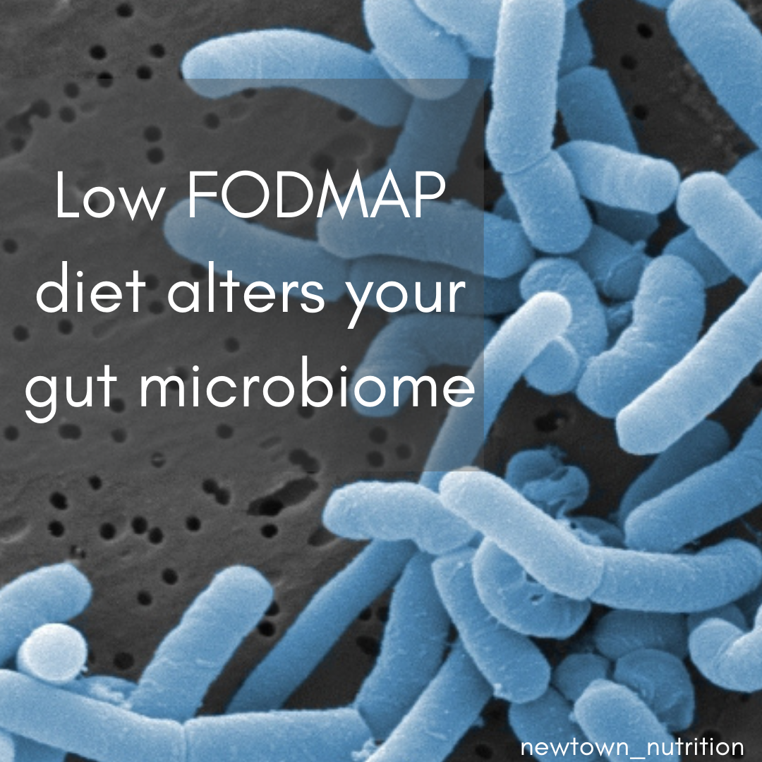 Low FODMAP diet alters your gut microbiome